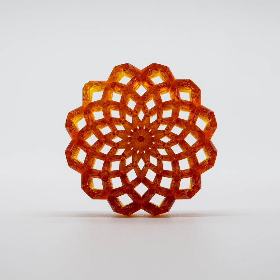 Solstice Symmetry - Implicitly Designed, 3D-Printed Ornaments - Co-Hosted by nTopology and polySpectra